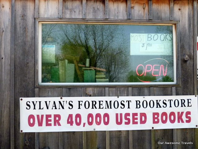 Sylvan's Foremost Bookstore
